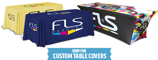A personal guide to purchasing custom table covers for events and tradeshows