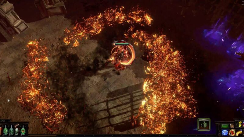 New Path Of Exile Build: Flame Wall Spellsplinger Elementalist