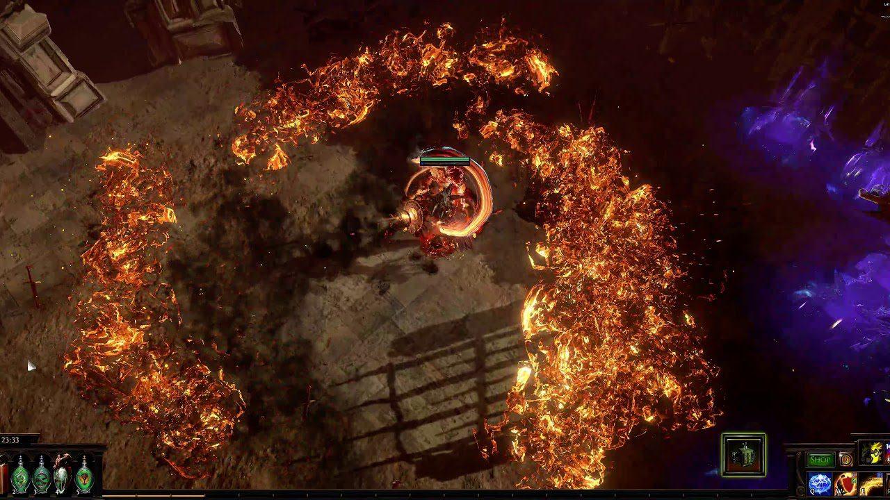 New Path Of Exile Build: Flame Wall Spellsplinger Elementalist
