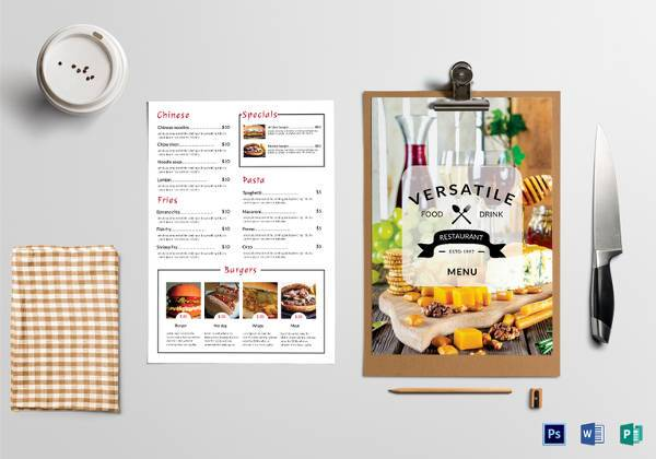 How Downloadable Templates For Restaurants Help To Get More Leads?