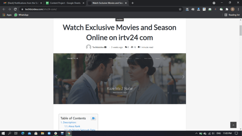 Home/review/Watch Exclusive Movies and Season Online on irtv24 comreview