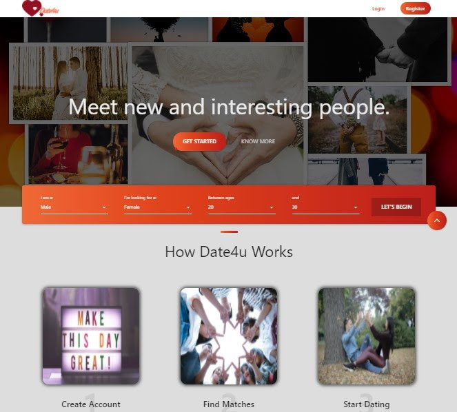 Date4you – Online Dating at its Best