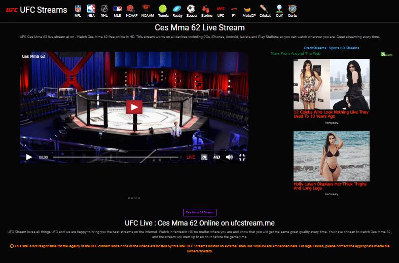 CES MMA Live | MMA Streams | UFC streams | MMAStreams