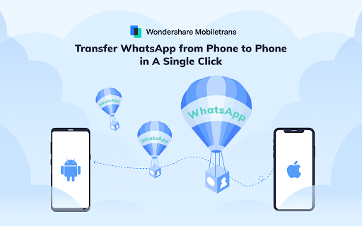 Wutsapper & Mobiletrans- Transferring WhatsApp Data from Android to iPhone is simple and quick